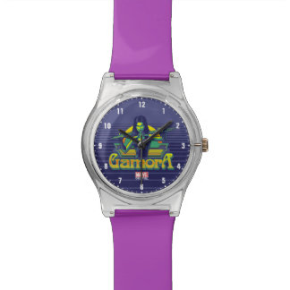 Guardians of the Galaxy | Gamora Cartoon Badge Watch