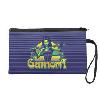 Guardians of the Galaxy | Gamora Cartoon Badge Wristlet Purse