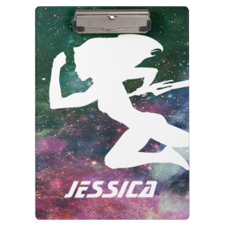 Guardians of the Galaxy | Gamora Galaxy Cutout Clipboards