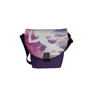 Guardians of the Galaxy | Gamora Galaxy Cutout Courier Bags