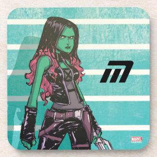 Guardians of the Galaxy   Gamora Mugshot Coaster