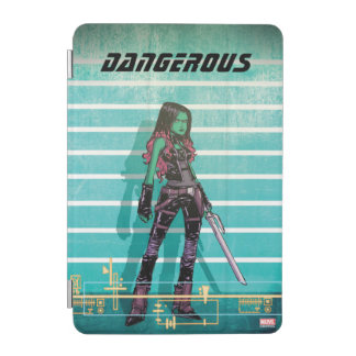 Guardians of the Galaxy | Gamora Mugshot iPad Mini Cover