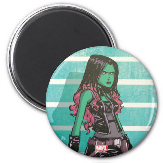 Guardians of the Galaxy | Gamora Mugshot Magnet