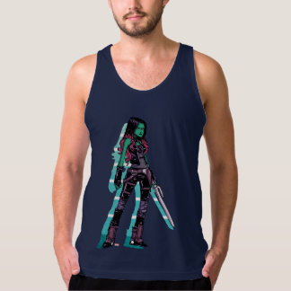 Guardians of the Galaxy | Gamora Mugshot Singlet