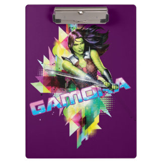 Guardians of the Galaxy | Gamora Neon Graphic Clipboards