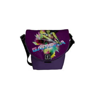 Guardians of the Galaxy | Gamora Neon Graphic Courier Bag