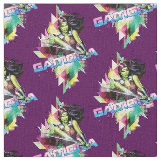 Guardians of the Galaxy | Gamora Neon Graphic Fabric