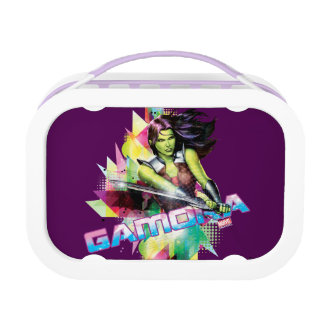 Guardians of the Galaxy | Gamora Neon Graphic Lunch Box