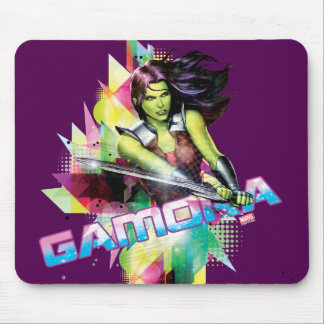 Guardians of the Galaxy   Gamora Neon Graphic Mouse Pad