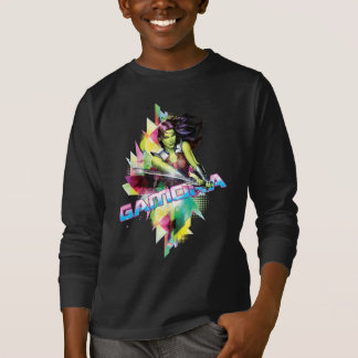 Guardians of the Galaxy | Gamora Neon Graphic T-Shirt