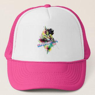 Guardians of the Galaxy | Gamora Neon Graphic Trucker Hat