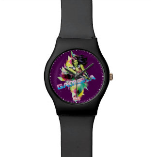 Guardians of the Galaxy | Gamora Neon Graphic Watch