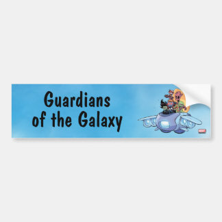 Guardians of the Galaxy | Gamora Pilots Ship Bumper Sticker