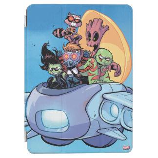 Guardians of the Galaxy   Gamora Pilots Ship iPad Air Cover