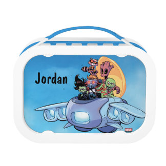 Guardians of the Galaxy | Gamora Pilots Ship Lunch Box