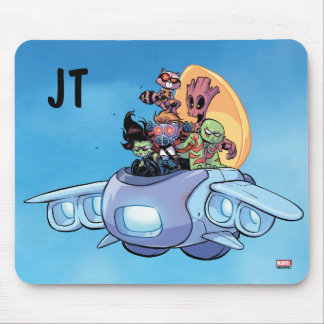 Guardians of the Galaxy | Gamora Pilots Ship Mouse Pad