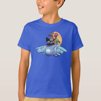 Guardians of the Galaxy | Gamora Pilots Ship T-Shirt