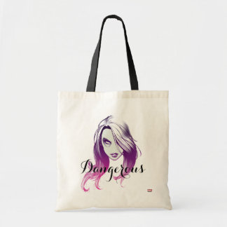 Guardians of the Galaxy | Gamora Watercolor Tote Bag