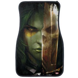 Guardians of the Galaxy | Gamora With Blade Car Mat