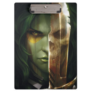 Guardians of the Galaxy | Gamora With Blade Clipboard