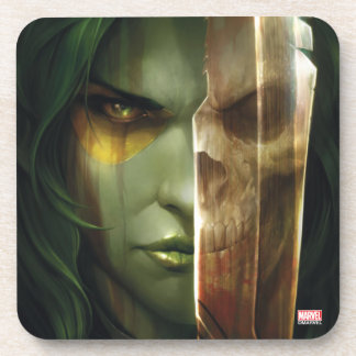 Guardians of the Galaxy | Gamora With Blade Coaster