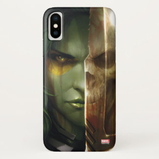 Guardians of the Galaxy | Gamora With Blade iPhone X Case