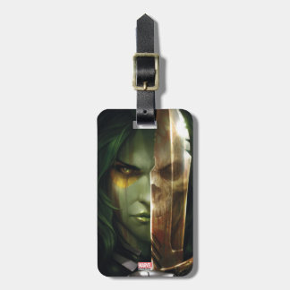Guardians of the Galaxy | Gamora With Blade Luggage Tag