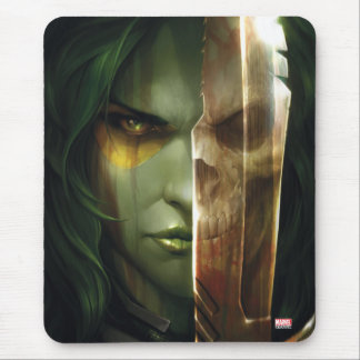 Guardians of the Galaxy | Gamora With Blade Mouse Pad