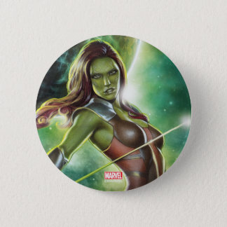 Guardians of the Galaxy | Gamora With Sword 6 Cm Round Badge