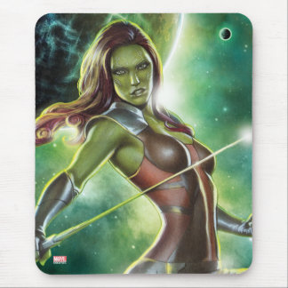 Guardians of the Galaxy | Gamora With Sword Mouse Pad