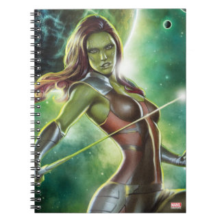 Guardians of the Galaxy | Gamora With Sword Notebook