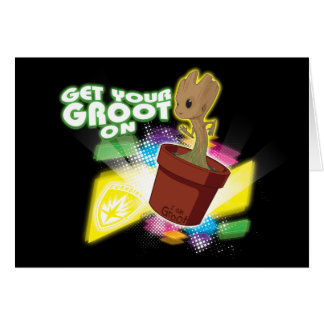 Guardians of the Galaxy | Get Your Groot On Card