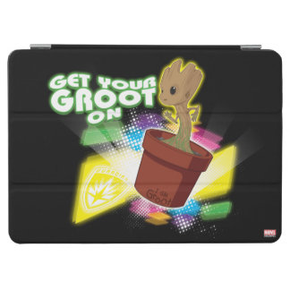 Guardians of the Galaxy   Get Your Groot On iPad Air Cover