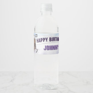 Guardians of the Galaxy - Groot - Birthday Water Bottle Label