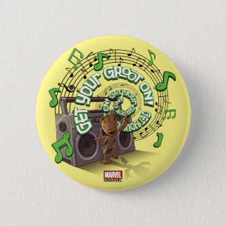 Guardians of the Galaxy | Groot Boombox 6 Cm Round Badge