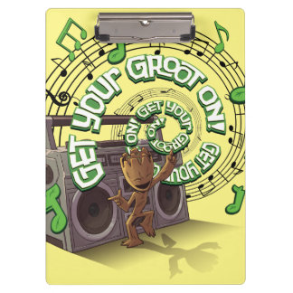 Guardians of the Galaxy | Groot Boombox Clipboard