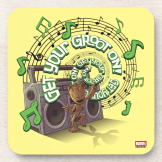 Guardians of the Galaxy | Groot Boombox Coaster