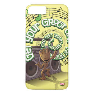 Guardians of the Galaxy | Groot Boombox iPhone 8 Plus/7 Plus Case