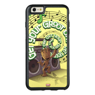 Guardians of the Galaxy | Groot Boombox OtterBox iPhone 6/6s Plus Case