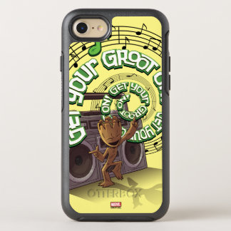 Guardians of the Galaxy | Groot Boombox OtterBox Symmetry iPhone 8/7 Case