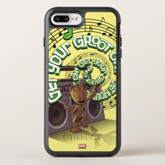 Guardians of the Galaxy | Groot Boombox OtterBox Symmetry iPhone 8 Plus/7 Plus Case