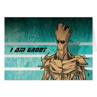 Guardians of the Galaxy | Groot Mugshot Card