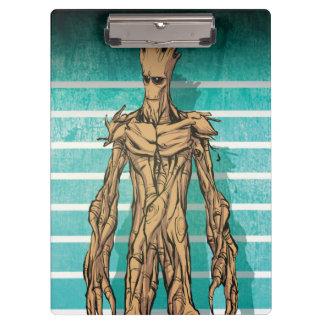Guardians of the Galaxy | Groot Mugshot Clipboard
