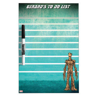 Guardians of the Galaxy | Groot Mugshot Dry Erase Board