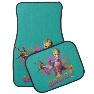 Guardians of the Galaxy | Groot Neon Graphic Car Mat