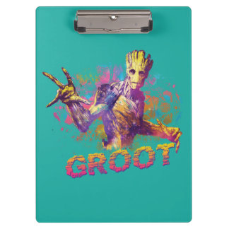 Guardians of the Galaxy | Groot Neon Graphic Clipboard