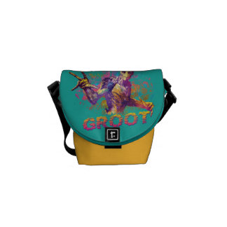 Guardians of the Galaxy | Groot Neon Graphic Courier Bags