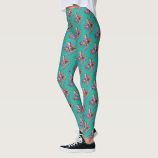 Guardians of the Galaxy | Groot Neon Graphic Leggings