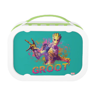 Guardians of the Galaxy | Groot Neon Graphic Lunch Box