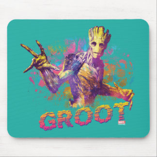 Guardians of the Galaxy | Groot Neon Graphic Mouse Pad
